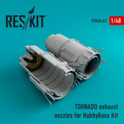 TORNADO exhaust nozzles for HobbyBoss Kit (1/48)
