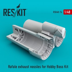 Rafale exhaust nossles for Hobby Boss Kit (1/48)