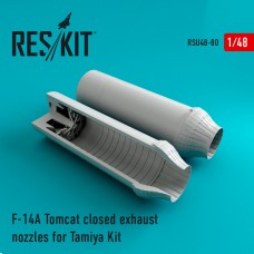 F-14A Tomcat closed exhaust nozzles for Tamiya Kit (1/48)
