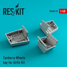 Canberra Wheels bay for for Airfix Kit (1/48)
