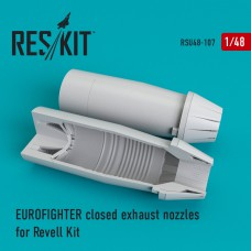Eurofighter closed exhaust nozzles for Revell Kit (1/48)