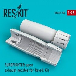 Eurofighter open exhaust nozzles for Revell Kit (1/48)