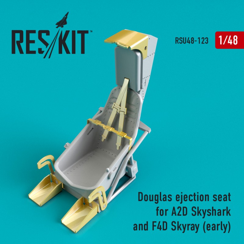 Douglas ejection seat for A2D Skyshark and F4D Skyray (early) (1/48)