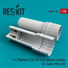 F-4 Phantom II (E/J/F/G/S) exhaust nossles for Zoukei-Mura Kit (1/48)