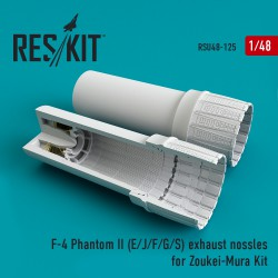 F-4 Phantom II (E/J/F/G/S) exhaust nossles for Zoukei-Mura Kit (1/48)