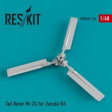 Tail Rotor Mi-24 for Zvezda Kit (1/48)