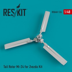 Tail Rotor Mi-24 for Zvezda Kit (1/48)
