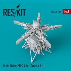 Main Rotor Mi-24 for Zvezda Kit (1/48)
