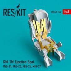 KM-1M Ejection Seat (MiG-21, MiG-23, MiG-25, MiG-27) (1/48)