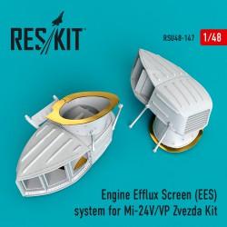 Engine Efflux Screen (EES) system for Mi-24V/VP Zvezda Kit (1/48)
