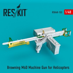Browning M60 Machine Gun for Helicopters (1/48)