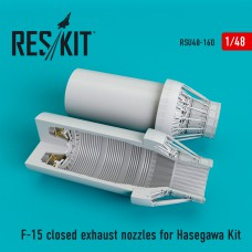 F-15 closed exhaust nozzles for Hasegawa Kit (1/48)