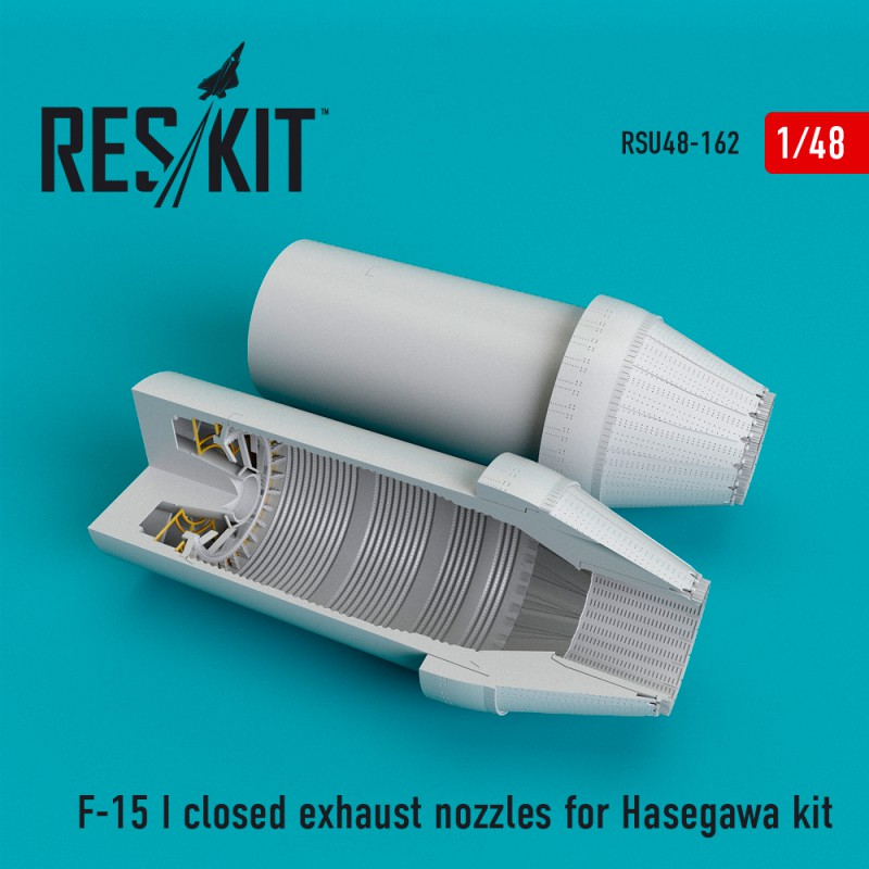 F-15 (I) closed exhaust nozzles for Hasegawa Kit (1/48)