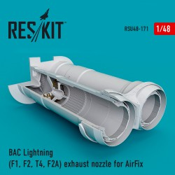 BAC Lightning (F1, F2, T4, F2A) exhaust nozzle for AirFix (1/48)