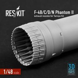 F-4B/C/D/N Phantom II  exhaust nozzle for Tamiya Kit (1/48)