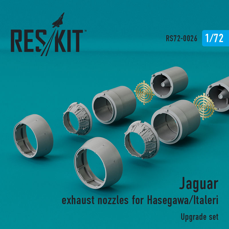 Jaguar сопла (для набора  Hasegawa/Italleri) (1/72)