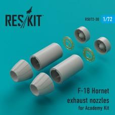 F-18 Hornet сопла для набора Academy (1/72)