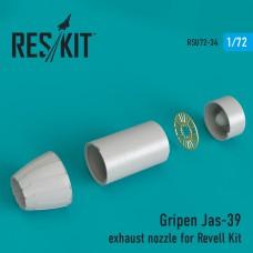 Gripen Jas-39 сопла для набора Revell (1/72)