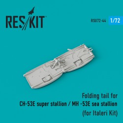 Folding tail for СH-53E super stallion / MH -53E super stallion (for Italeri Kit)  (1/72)