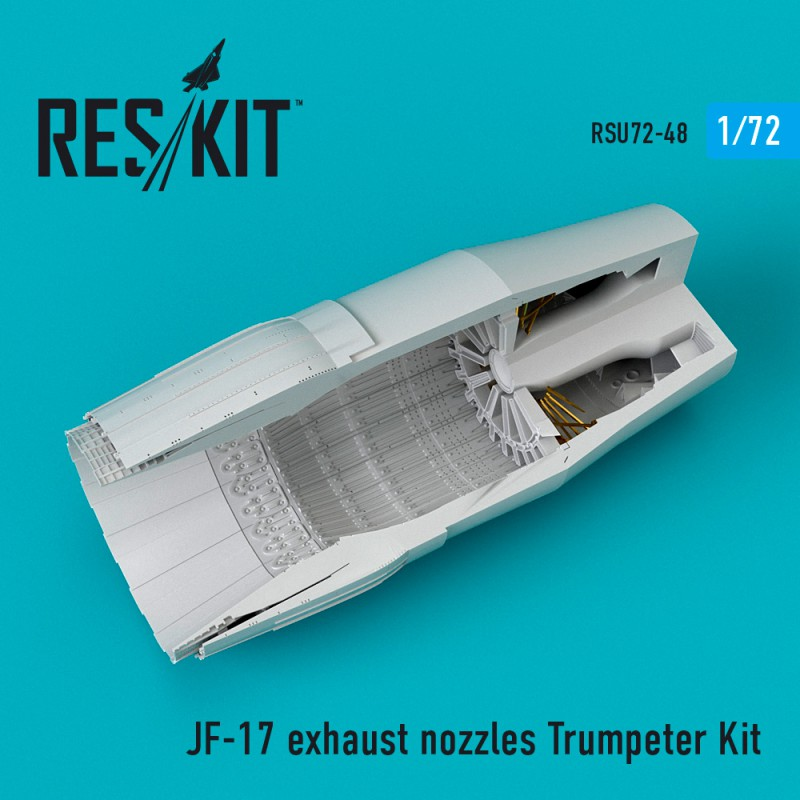 JF-17 exhaust nozzle Trumpeter Kit (1/72)