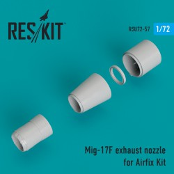 MiG-17F exhaust nozzle for Airfix Kit (1/72)