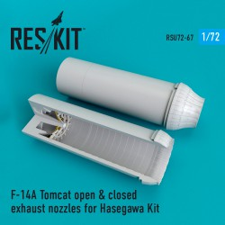 F-14A Tomcat open & closed сопла для набора Hasegawa (1/72)