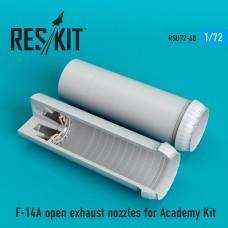 F-14A open сопла для набора Academy Kit (1/72)