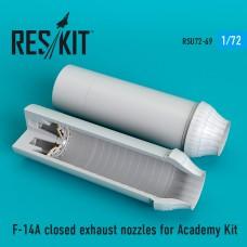 F-14A closed сопла для набора Academy Kit (1/72)