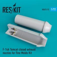 F-14A Tomcat closed сопла для набора Fine Molds (1/72)