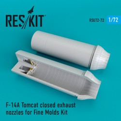 F-14A Tomcat closed сопла для набора Fine Molds (1/72)