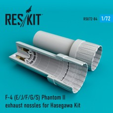 F-4 Phantom II (E/J/F/G/S) сопла для набора Hasegawa (1/72)