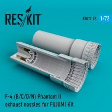 F-4 Phantom II (B/C/D/N)  сопла для набора FUJUMI (1/72)