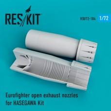 Eurofighter open сопла для набора HASEGAWA (1/72)