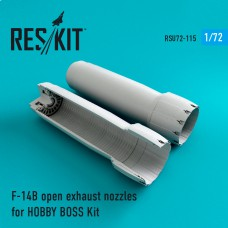 F-14 (B\D) open сопла для набора HOBBY BOSS Kit (1/72)