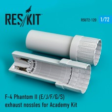 F-4 Phantom II (E/J/F/G/S) сопла для набора Academy (1/72)
