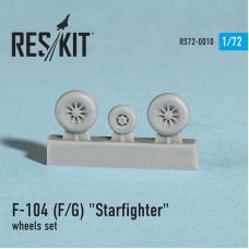 "F-104 (F/G) ""Starfighter"" wheels set (1/72)"