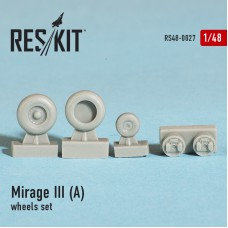 Mirage III (A) wheels set (1/48)