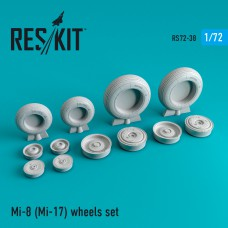 Mi-8 (Mi-17) wheels set 1/72